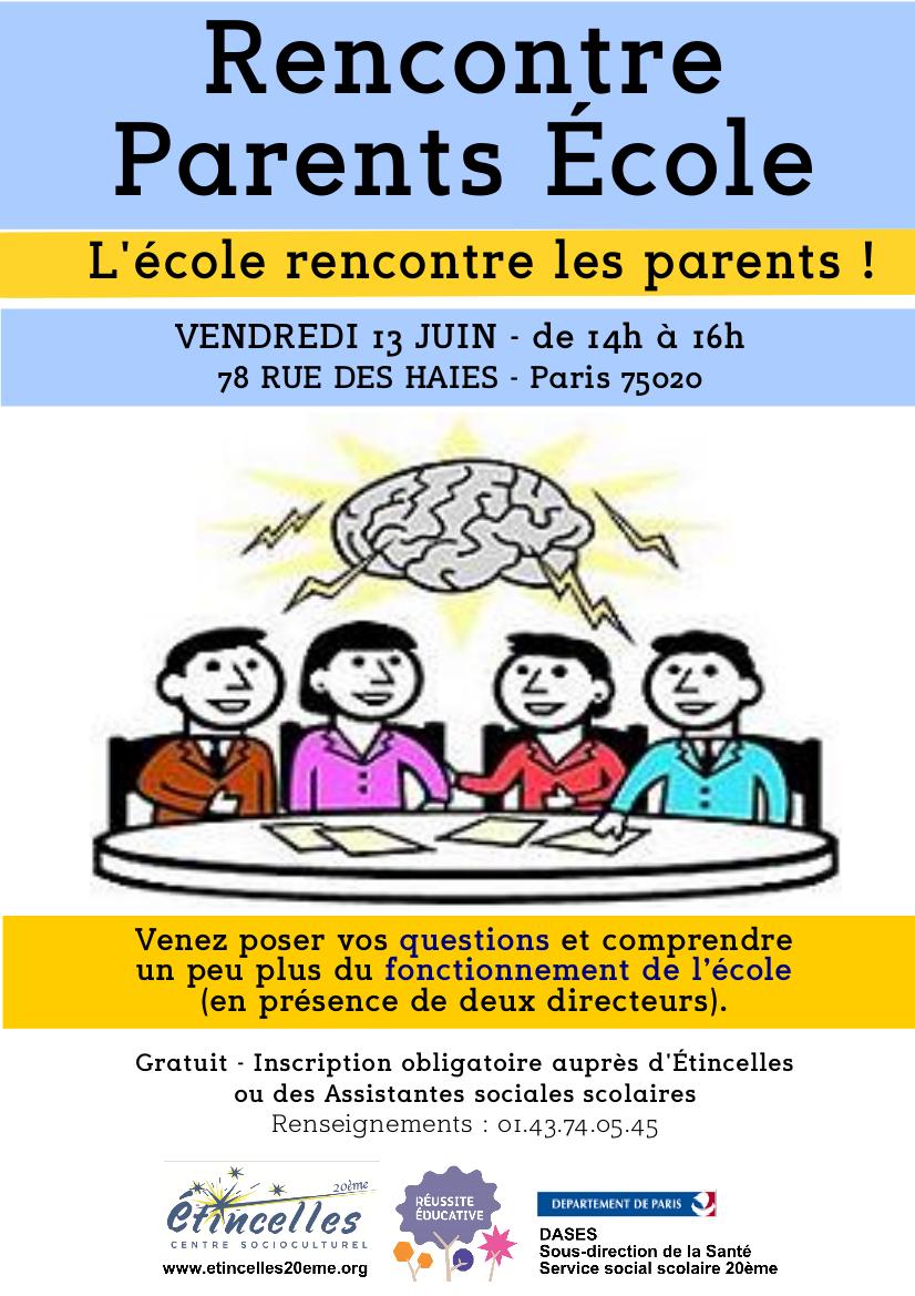 Rencontre parents avis