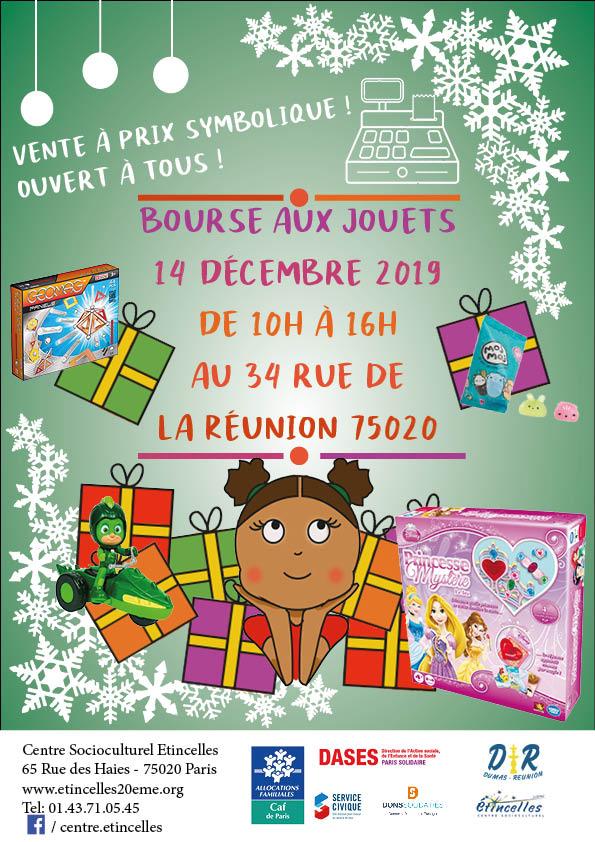 Bourse jouet Paris 20